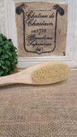 Natural Boar Bristled Brush with Massaging Head
