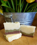 All-Natural Bergamot Lime Handmade Soap - Natures Bath & Body