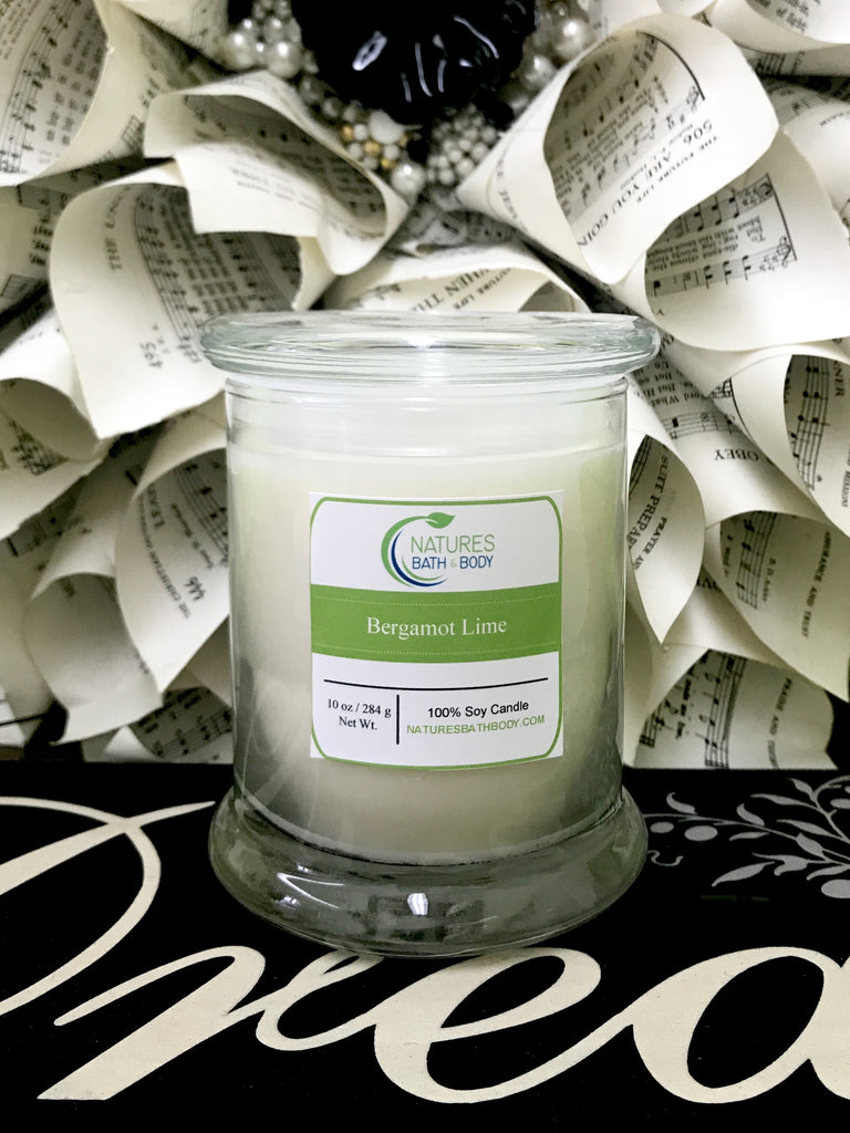 10 oz. Soy Candles - Natures Bath & Body