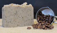 All-Natural Coffee Exfoliating Handmade Soap - Natures Bath & Body