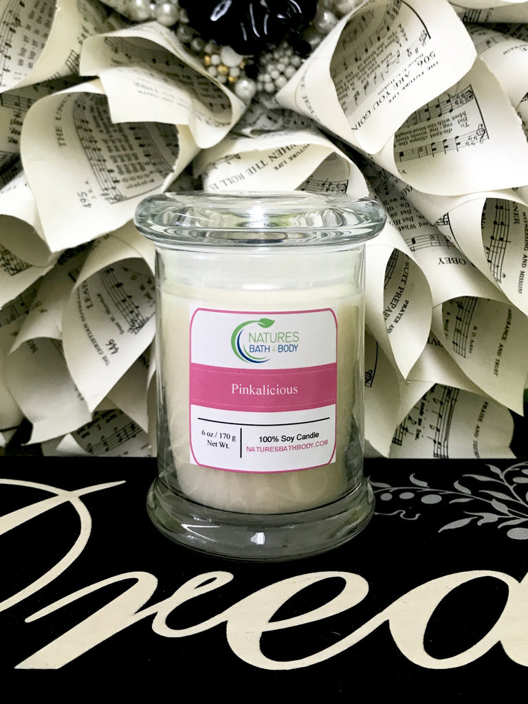6 oz. Soy Candles - Natures Bath & Body