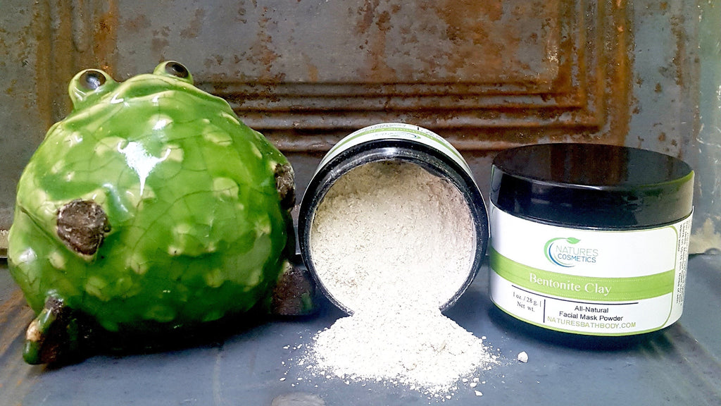 Bentonite Clay Facial Mask Powder