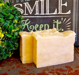 All-Natural Calendula Handmade Soap