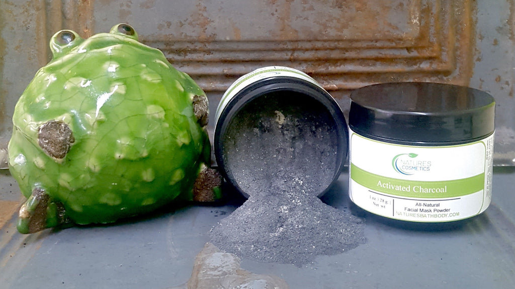 Activated Charcoal Facial Mask Powder - Natures Bath & Body