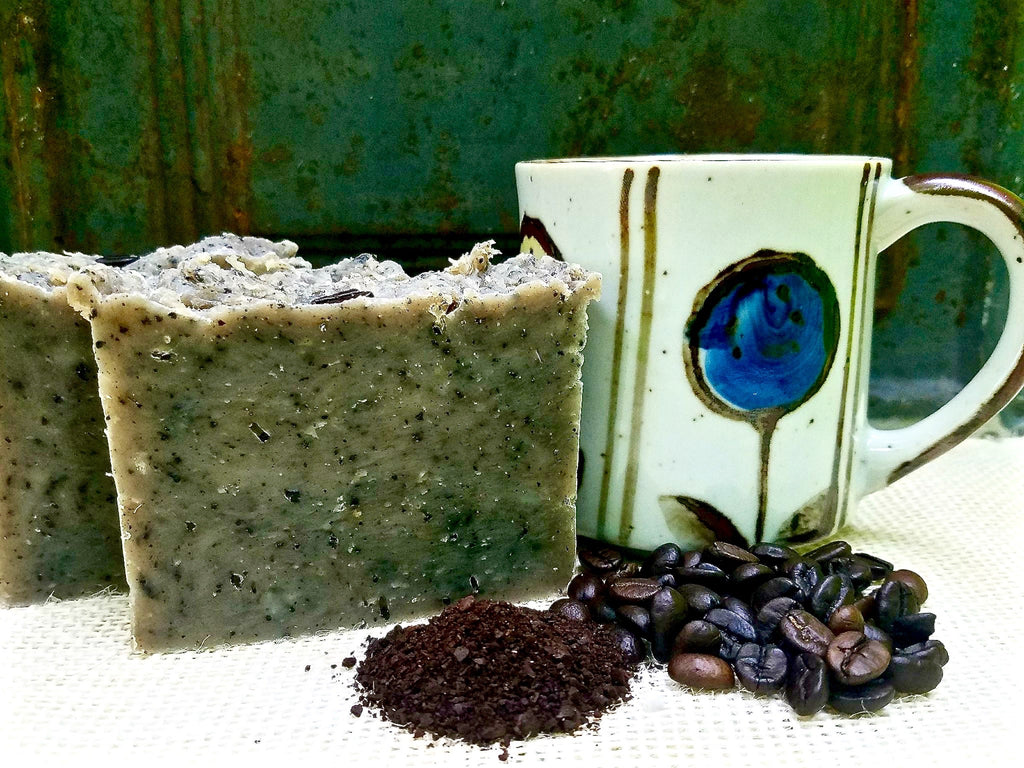 All-Natural Coffee Exfoliating Handmade Soap