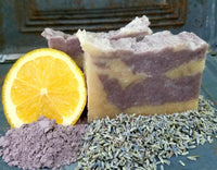 All-Natural Lavender Orange Handmade Soap