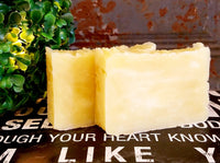 All-Natural Lemongrass Handmade Soap