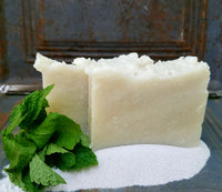 Peppermint Tea Tree + Pumice Soap