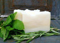 All-Natural Rosemary Mint Handmade Soap