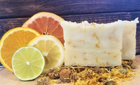 All-Natural Sweet Citrus Handmade Soap