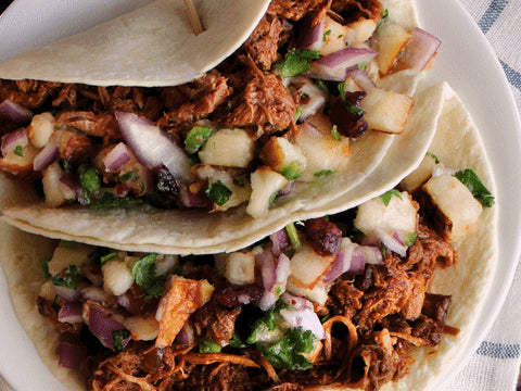 Pulled Pork Tacos can be Dairy and Gluten Free