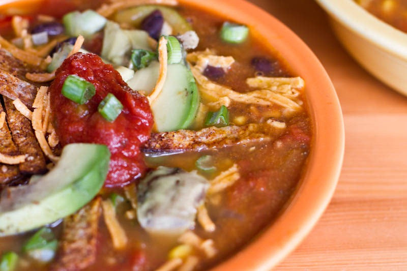 Summer Harvest Tortilla Soup