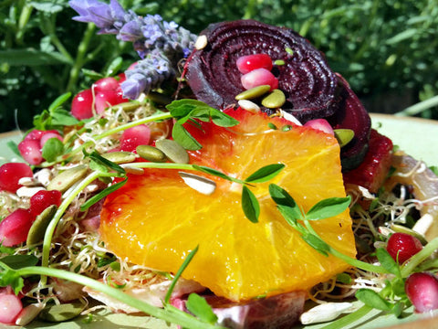 Beet, Citrus & Nut Salad