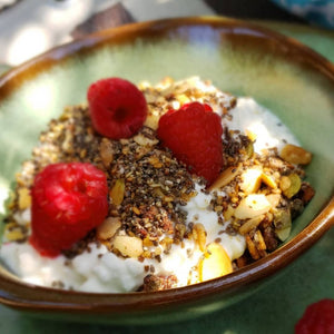 Cottage Cheese and Granola