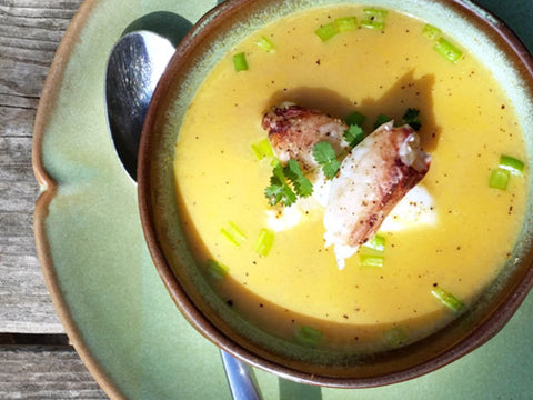 Dungeness Crab Bisque - Paleo style