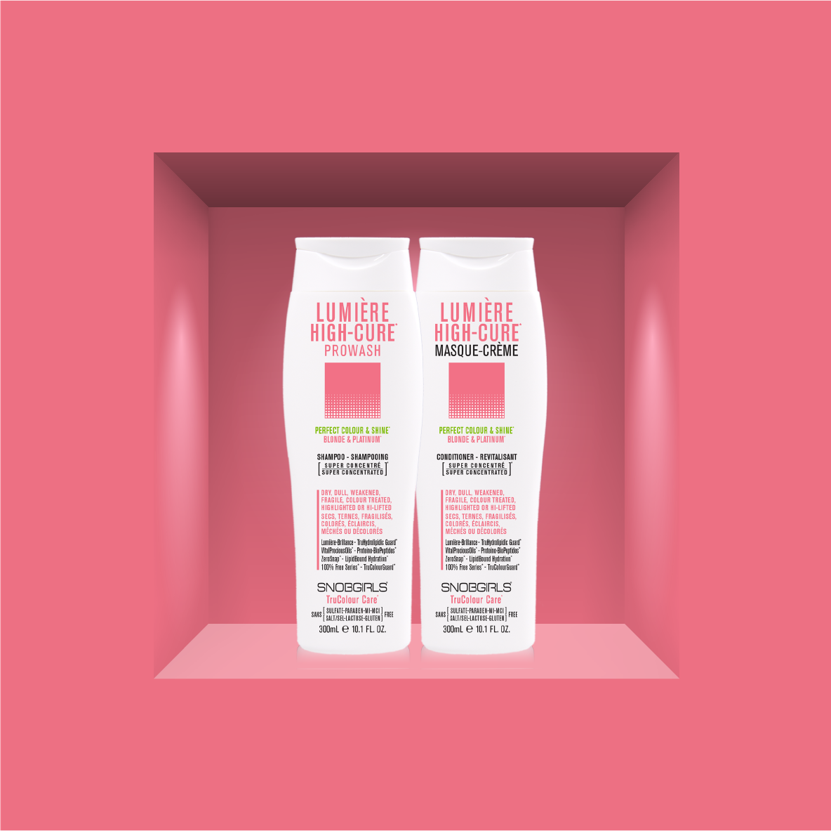 LUMIÈRE HIGH-CURE* <p>Perfect for All Shades of Blonde & Platinum Blonde.