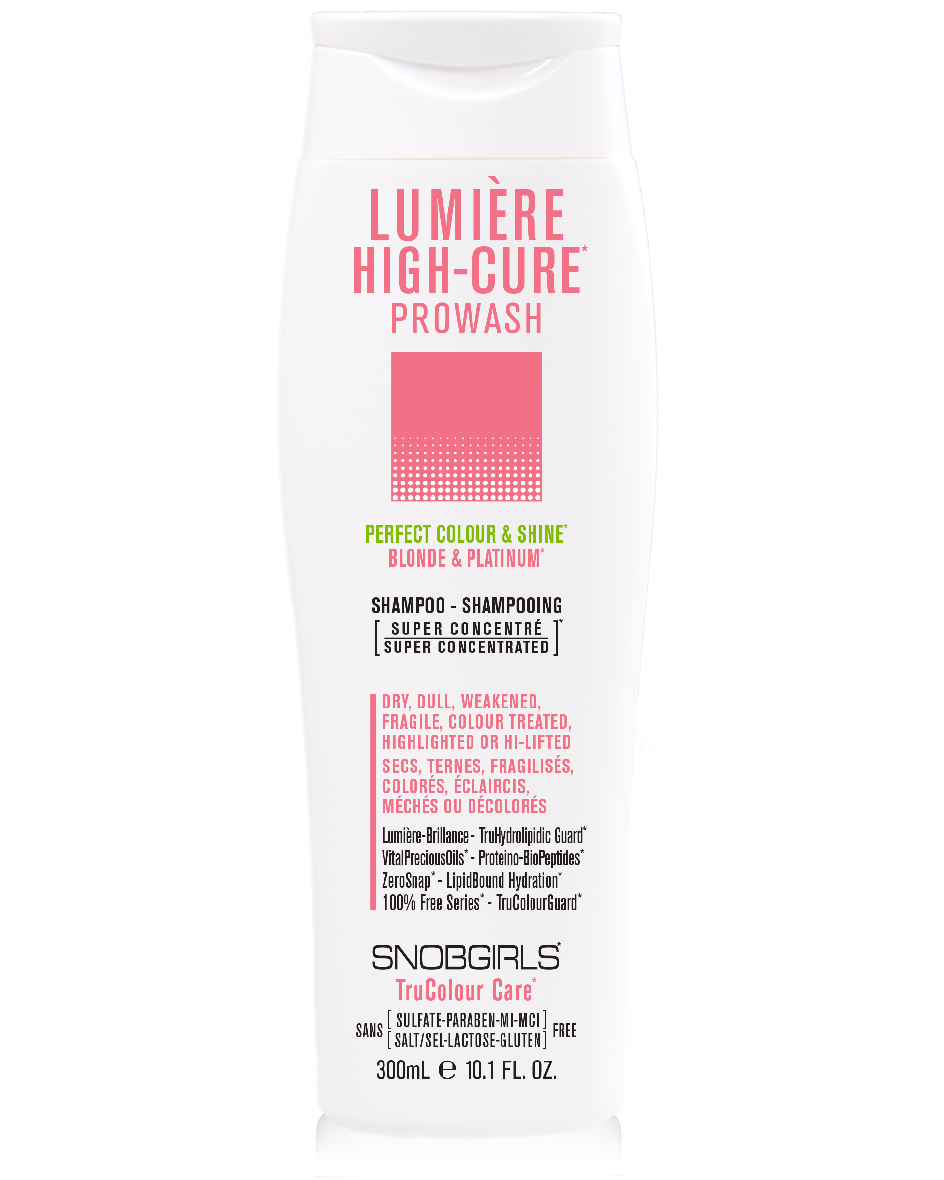 LUMIERE HIGH-CURE PROWASH - SNOBGIRLS Australia