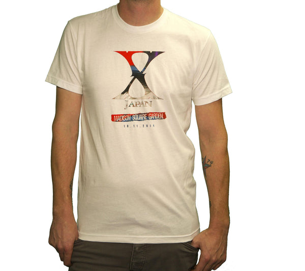 Madison Square Garden 2014 Men's T-Shirt - X Japan Official Online Store - 1