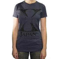 Crashed Ladies T-Shirt - X Japan Official Online Store - 1