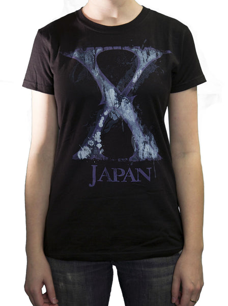 Ladies Purple X T-Shirt - X Japan Official Online Store - 1