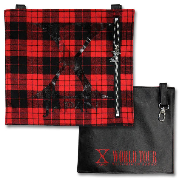 Plaid Bumflap - X Japan Official Online Store - 1