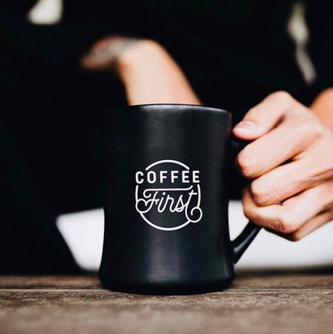 Coffee First Mug