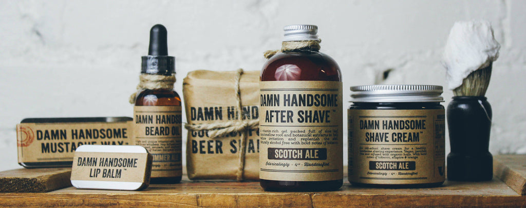 Damn Handsome Grooming Co. // A Brand that Gives Back // Society B