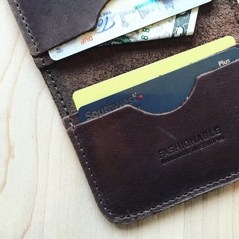 Eyerusalem Passport Wallet // Chocolate