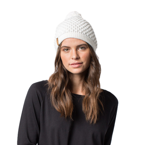Abby Hat // White