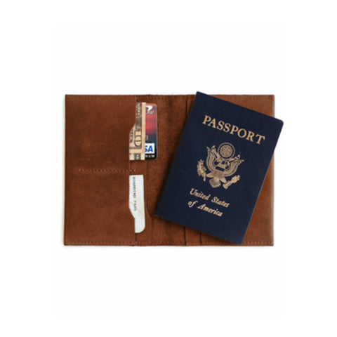 Alem Passport Wallet // Whiskey
