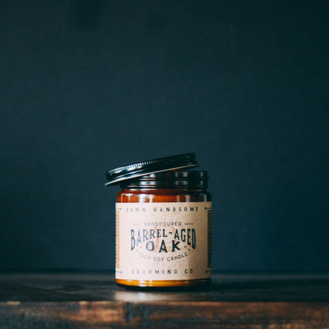 Barrel-Aged Oak Candle // Damn Handsome // Society B - Fair Trade Products and Gifts that Give Back - 4