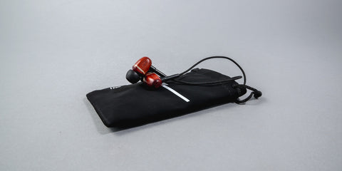 Bowery Earbuds with Mic // Cherry // LSTN // Society B - Fair Trade Products and Gifts that Give Back - 4