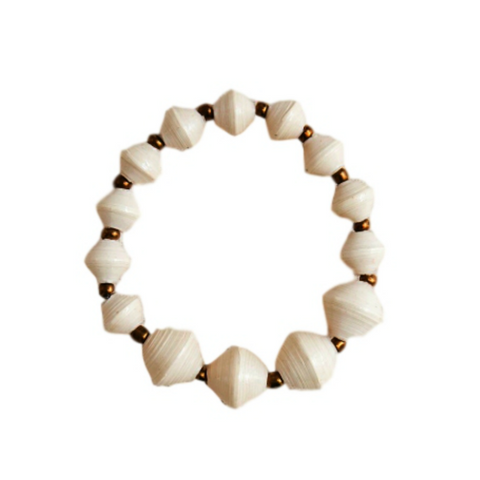 The Collector Bracelet // Cream // 31 Bits // Society B - Fair Trade Products and Gifts that Give Back - 1