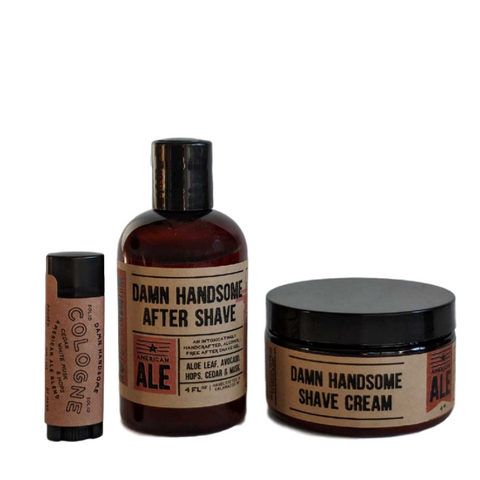 American Ale Shave Set
