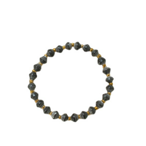 Daphne Bracelet // Black // 31 Bits // Society B - Fair Trade Products and Gifts that Give Back - 1