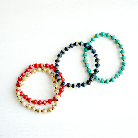 Daphne Bracelet // Red // 31 Bits // Society B - Fair Trade Products and Gifts that Give Back - 2
