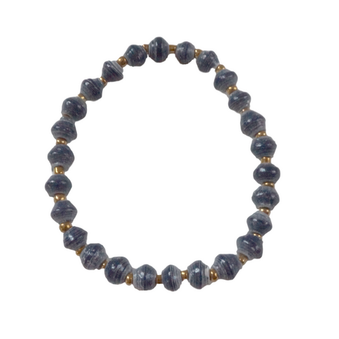 Daphne Bracelet // Navy // 31 Bits // Society B - Fair Trade Products and Gifts that Give Back - 1
