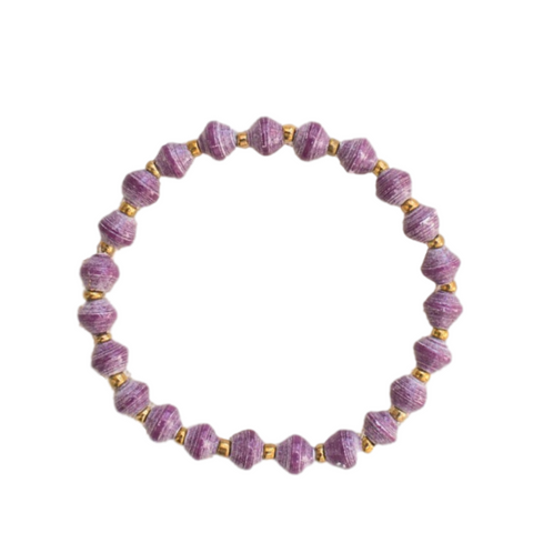 Daphne Bracelet // Purple // 31 Bits // Society B - Fair Trade Products and Gifts that Give Back - 1