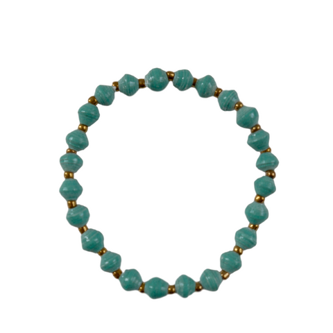 Daphne Bracelet // Teal // 31 Bits // Society B - Fair Trade Products and Gifts that Give Back - 1