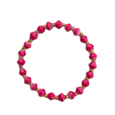 Daphne Bracelet // Wine // 31 Bits // Society B - Fair Trade Products and Gifts that Give Back - 1
