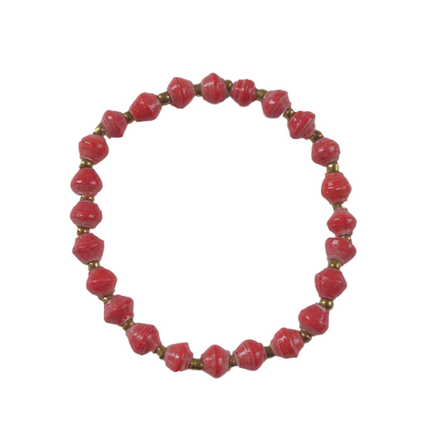 Daphne Bracelet // Red // 31 Bits // Society B - Fair Trade Products and Gifts that Give Back - 1