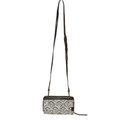 Latika Cross Body Wristlet // Winter Lotus