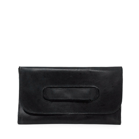 Mare Handle Clutch // Black