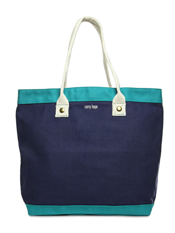 Carob Market Tote // ESPEROS // Society B - Fair Trade Products and Gifts that Give Back - 3