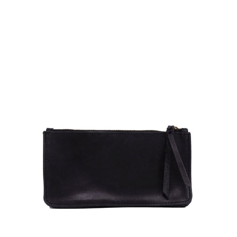Martha Accordion Wallet // Black