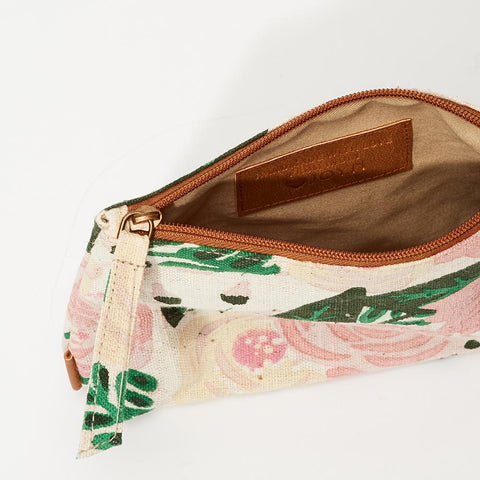 Meena Small Pouch // Blossom