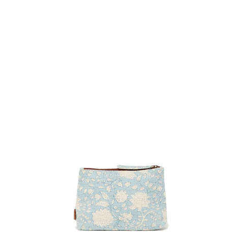 Meena Small Pouch // Sky