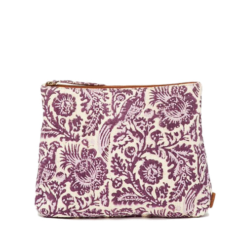 Meena Large Pouch // Boysenberry