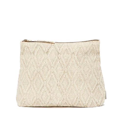 Meena Large Pouch // Grey Diamond