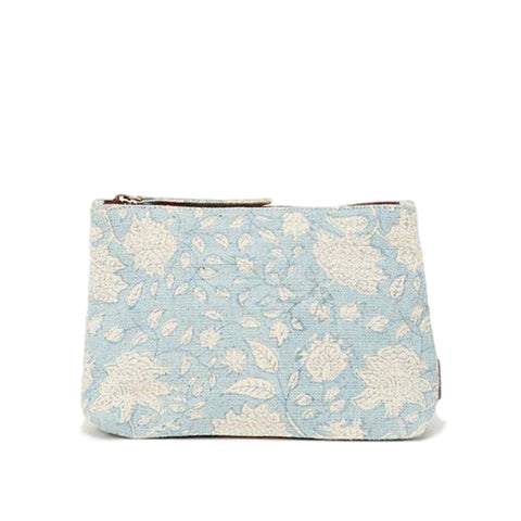 Meena Large Pouch // Sky